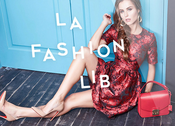 La Fashion Lib site